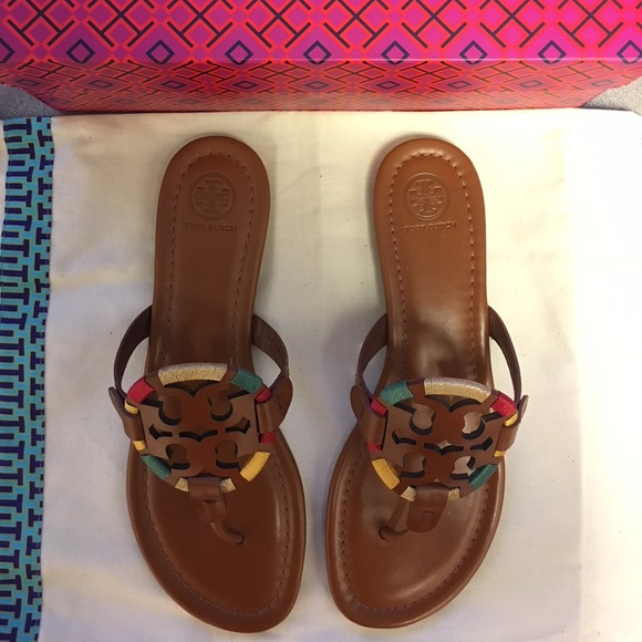 1bee2f9dc02eb Tory Burch Women s Miller Embroidered Sandal